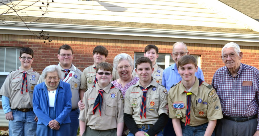 Hartselle Boy Scout Troop 336 Chooses Columbia Cottage for Eagle Scout Project