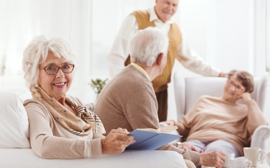 Being Socially Active Can Help Your Senior Mom Age Well